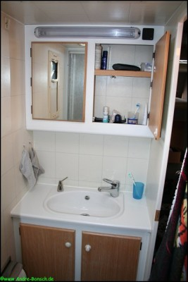 Wohnmobil Badezimmer