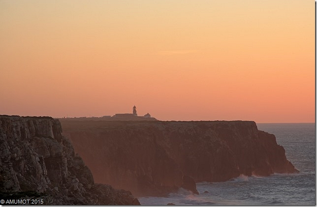 Sonnenuntergang Leuchtturm Sagres