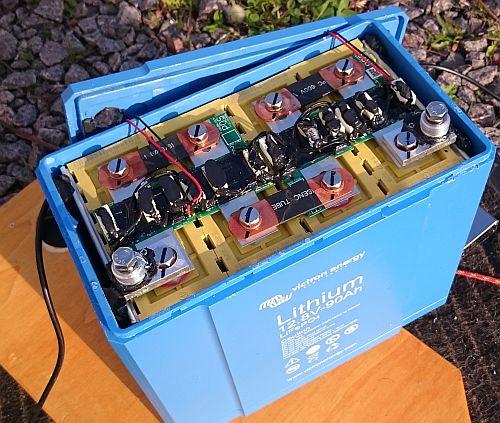 Lithium Batterie 100AH mit LiFeYPo4 Zellen von Winston