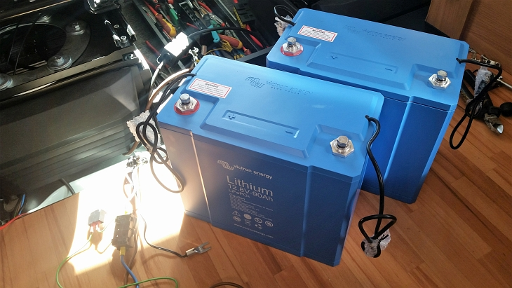 lithium umrüstung