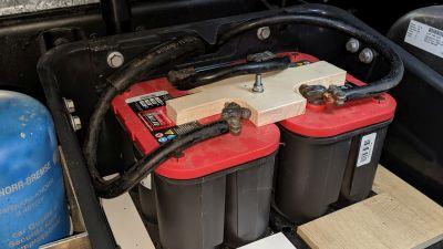 Starterbatterie 2x 50Ah