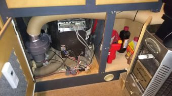 mini holzofen im wohnmobil ohne gas heizen. Black Bedroom Furniture Sets. Home Design Ideas