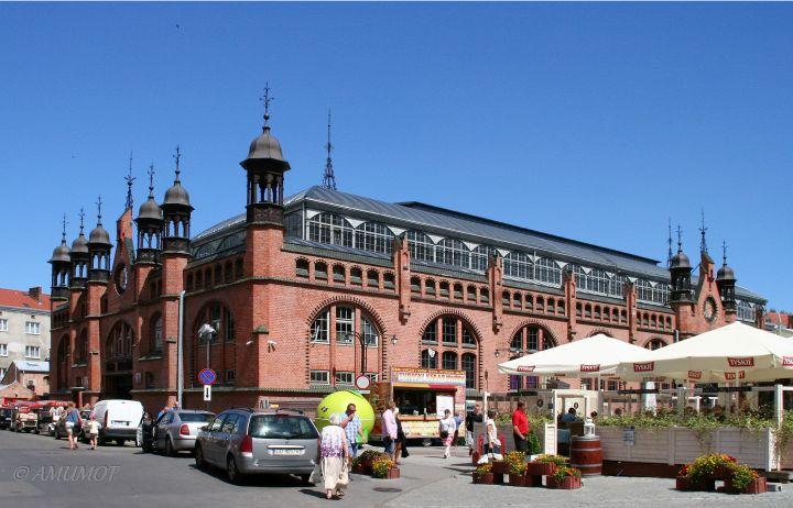 alte Markthalle in Danzig