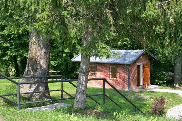 Hütte am Oberländer Kanal