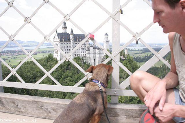 Auf der Marienbrücke Bayern