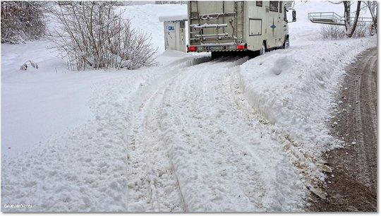 im schnee fahren