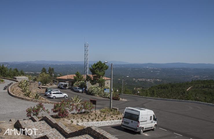 Parkplatz Centro Geodésico de Portugal