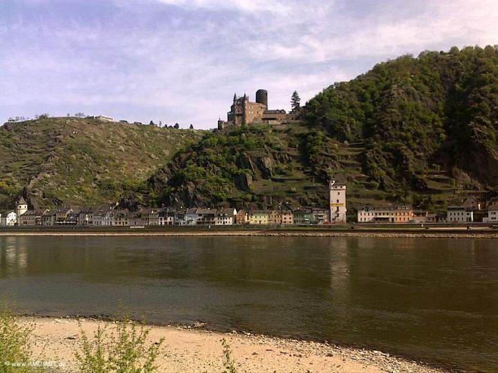 Burgen am Rhein