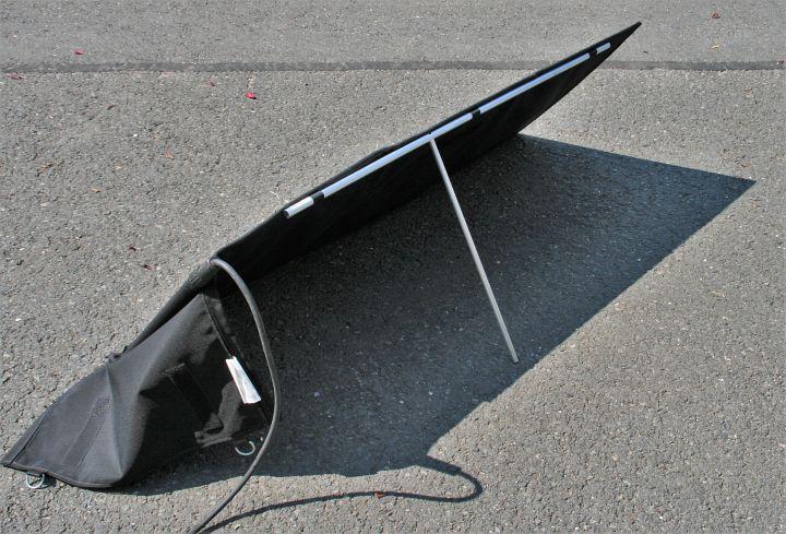 Solarmodul für Wintercamping