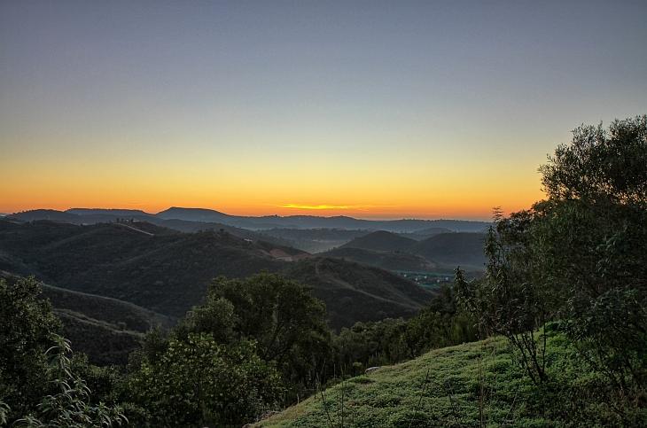 Hügelland an der Alagarve