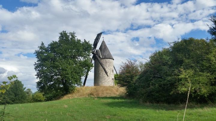 Windmühle in Frankreich
