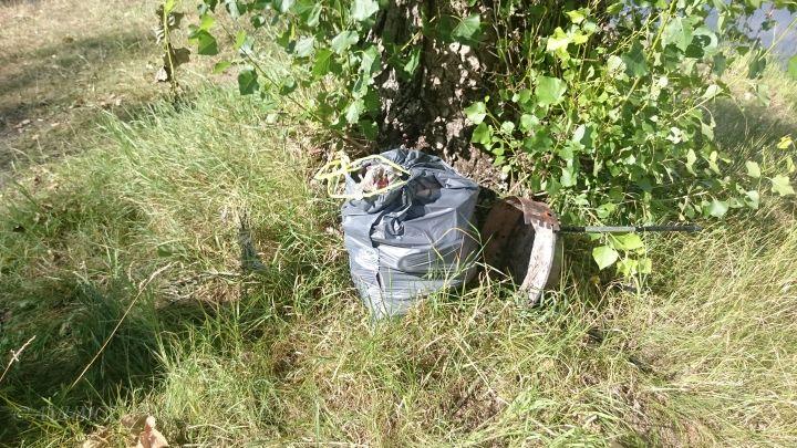 Müll Sammeln in polen
