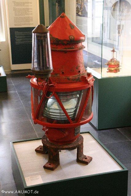 alte lampe von leuchtturm