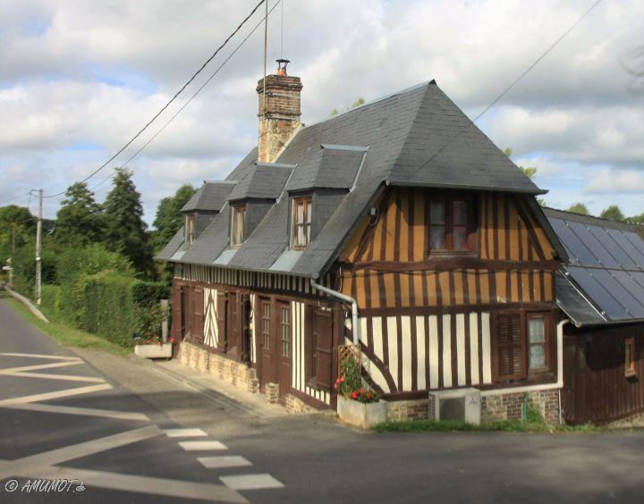 Mit dem Wohnmobil entlang der Küste der Normandie