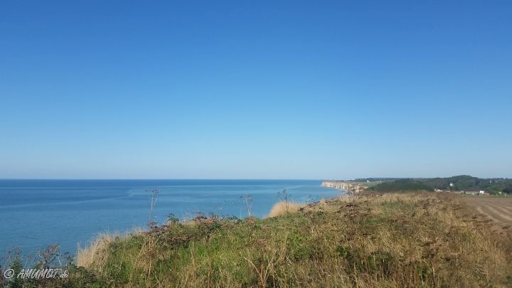 Normandie Küste Veules-les-Roses