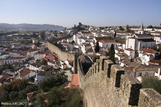 Stadtmauer begehbar obidos