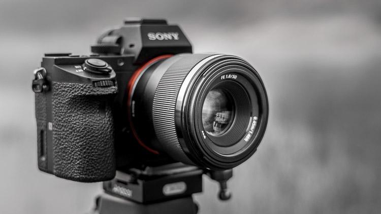 Klein Objektiv 50mm fü Vollformat