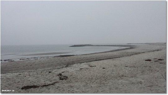 Echt Wahnsinn, wir sind an der Ostsee. Das erste Mal in unserem Leben.