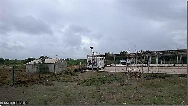 Großer Parkplatz in Melides