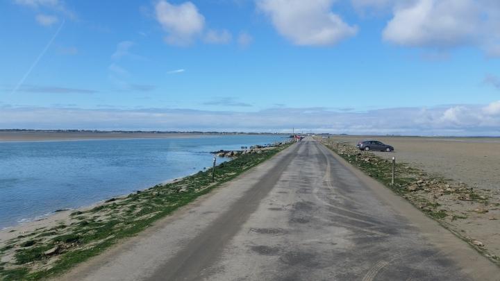 Passage du Gois 4,5km durch das Meer