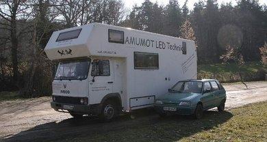 mit dem Wohnmobil in Frankreich