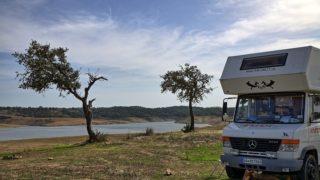 Monsterwellen in Nazaré, Tramfahren in Lissabon und Freistehen in der Wildnis