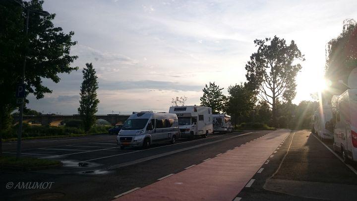 kostenloser Stellplatz Pirna