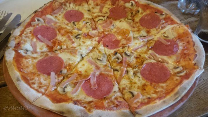Echt leckere Pizza