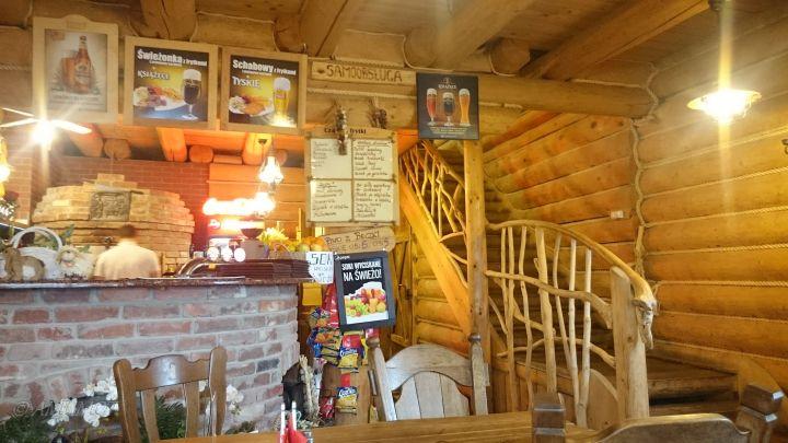 Polnische Pizzeria im Blockhaus
