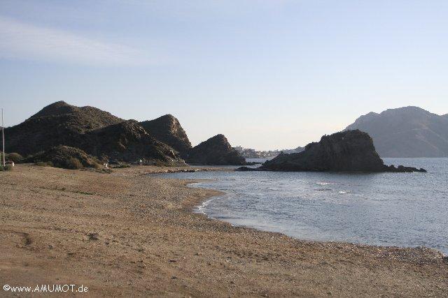 Bucht mit Felsen