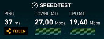 Netzabdeckung mobiles Internet Portugal