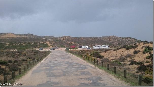 Am Praia do Bordeira in Carrapateira