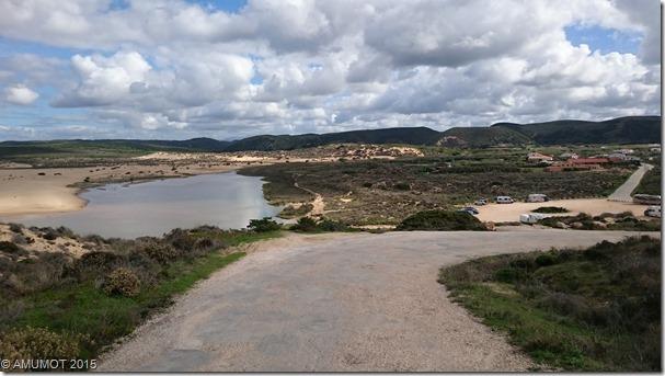 Strandparkplatz Praia Bordeira