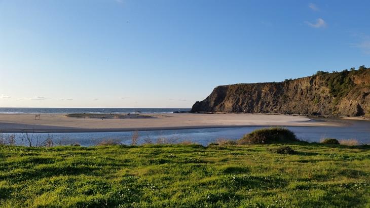 sonnenuntergang am praia odeseixe
