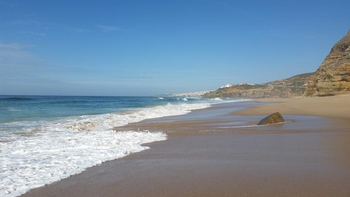 der strand am atlantik Praia de São Julião