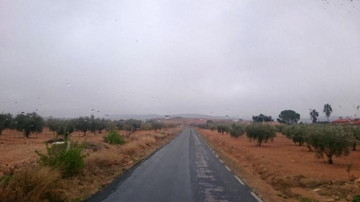 Regen in Spanien
