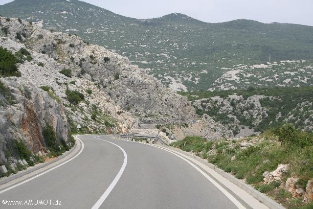 Mit dem Wohnmobil entlang der kroatischen küste