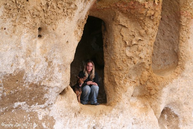 alte Höhlenwohnungen
