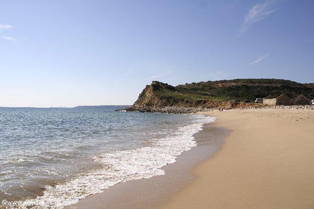 Der Strand an der Boca do Rio