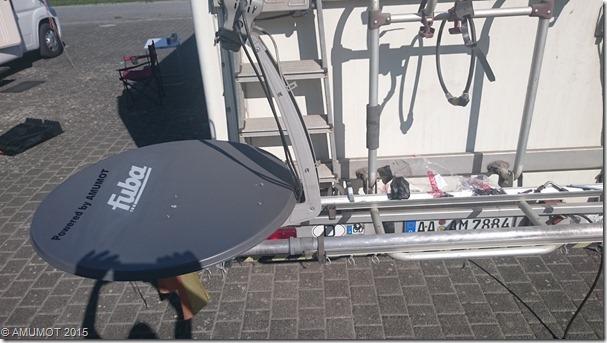 Optimierung der Satelliten Schüssel