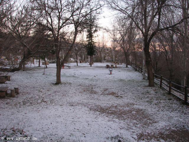 Schneefall in spanine