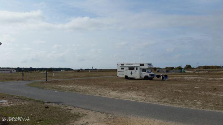 Camping Municipal des Sables Blanc auf Quiberon