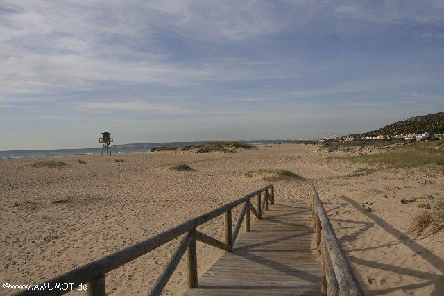 spanische Strände am atlantik