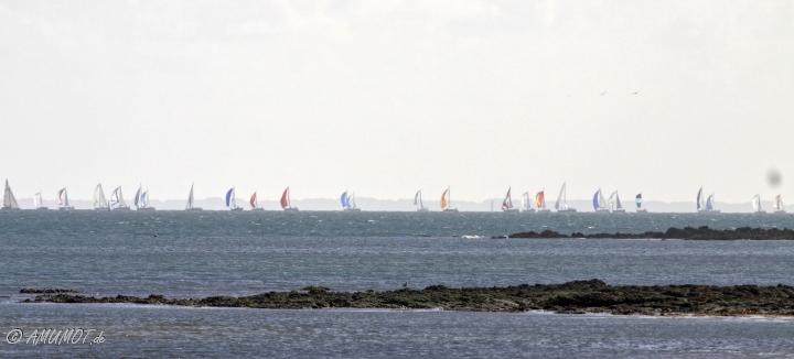 Segeln an der bretonischen Küste