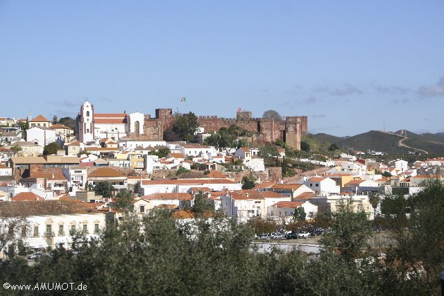 silves rote burg