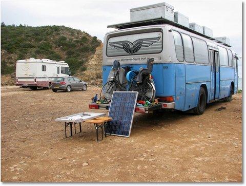 Solarmodule aufstellen