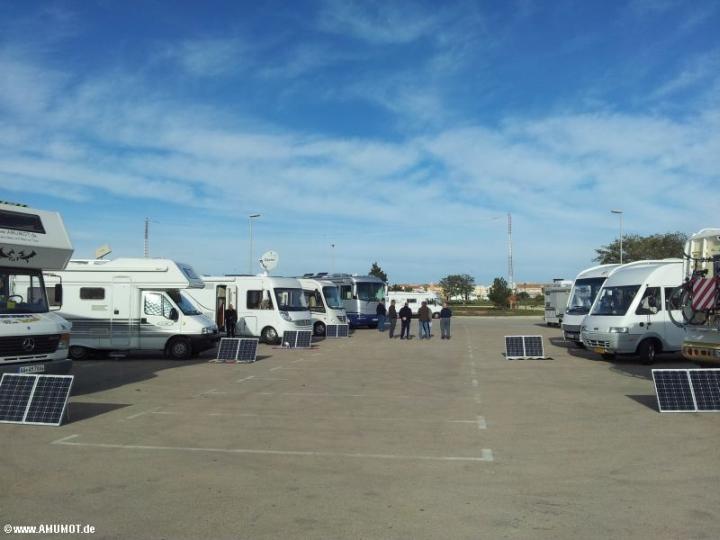 Ganz viele AMUMOT Solarkoffer in Spanien im Einsatz