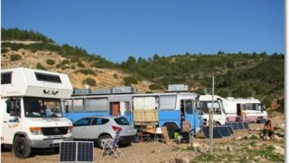 Von rechts nach links und zurück an der Algarve