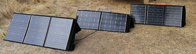 faltbares Solarmodul