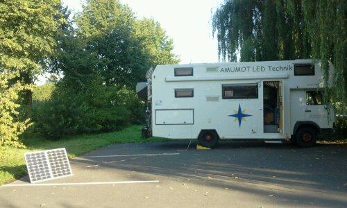 Solarkoffer camping